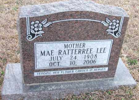 LEE, MAE - Lincoln County, Arkansas | MAE LEE - Arkansas Gravestone Photos