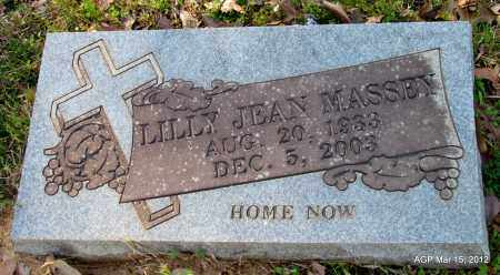 MASSEY, LILLY JEAN - Lincoln County, Arkansas | LILLY JEAN MASSEY - Arkansas Gravestone Photos