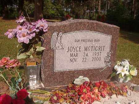 MCTIGRIT, JOYCE - Lincoln County, Arkansas | JOYCE MCTIGRIT - Arkansas Gravestone Photos