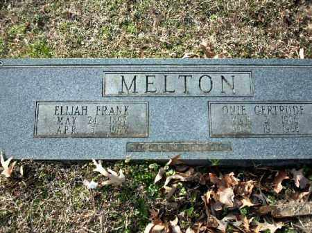 MELTON, ONIE GERTRUDE - Lincoln County, Arkansas | ONIE GERTRUDE MELTON - Arkansas Gravestone Photos