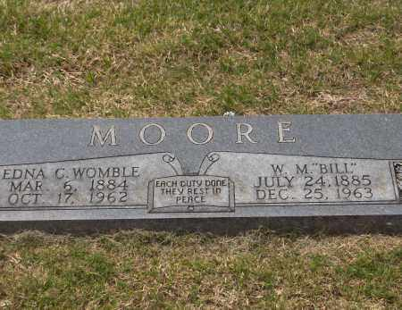 MOORE, EDNA CATHERINE - Lincoln County, Arkansas | EDNA CATHERINE MOORE - Arkansas Gravestone Photos