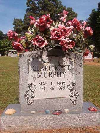 MURPHY, CLARENCE T - Lincoln County, Arkansas   CLARENCE T MURPHY - Arkansas Gravestone Photos