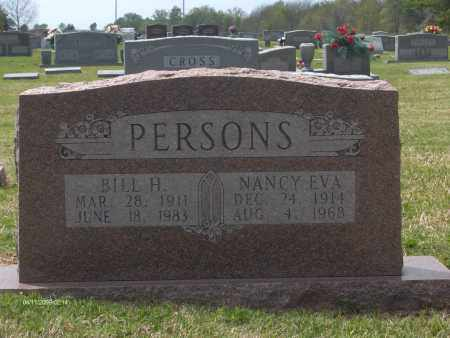 PERSONS, NANCY EVA - Lincoln County, Arkansas | NANCY EVA PERSONS - Arkansas Gravestone Photos