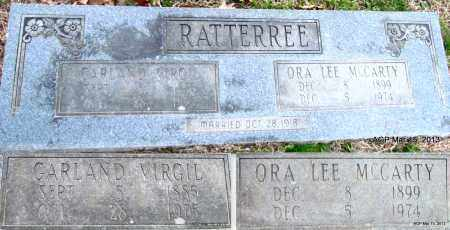 RATTEREE, ORA LEE - Lincoln County, Arkansas   ORA LEE RATTEREE - Arkansas Gravestone Photos