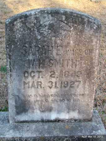 SMITH, SARAH E - Lincoln County, Arkansas | SARAH E SMITH - Arkansas Gravestone Photos