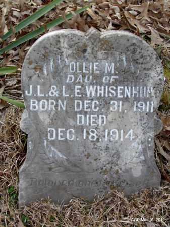 WHISENHUNT, OLLIE M - Lincoln County, Arkansas | OLLIE M WHISENHUNT - Arkansas Gravestone Photos