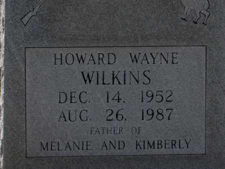 WILKINS, HOWARD WAYNE - Lincoln County, Arkansas   HOWARD WAYNE WILKINS - Arkansas Gravestone Photos