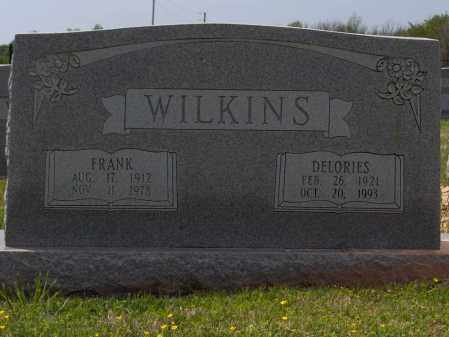 WILKINS, WILLIAM FRANKLIN (FRANK) - Lincoln County, Arkansas | WILLIAM FRANKLIN (FRANK) WILKINS - Arkansas Gravestone Photos