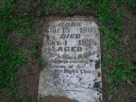 ADCOCK, A W - Little River County, Arkansas | A W ADCOCK - Arkansas Gravestone Photos
