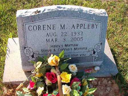 APPLEBY, CORENE M - Little River County, Arkansas   CORENE M APPLEBY - Arkansas Gravestone Photos