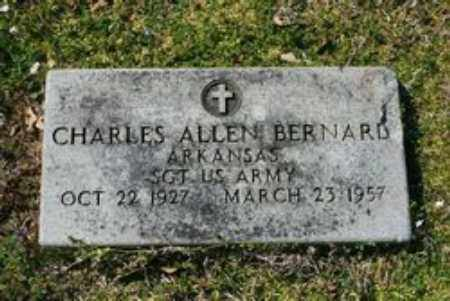 BERNARD  (VETERAN), CHARLES ALLEN - Little River County, Arkansas | CHARLES ALLEN BERNARD  (VETERAN) - Arkansas Gravestone Photos
