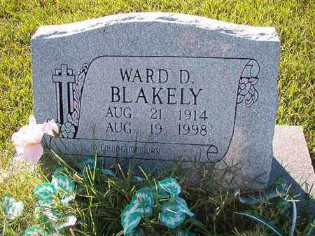 BLAKELY, WARD D - Little River County, Arkansas | WARD D BLAKELY - Arkansas Gravestone Photos
