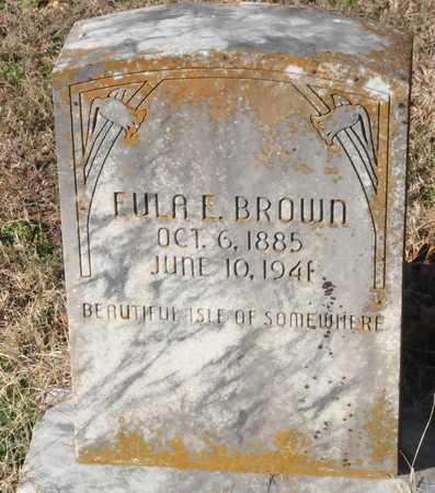 BROWN, EULA E - Little River County, Arkansas | EULA E BROWN - Arkansas Gravestone Photos