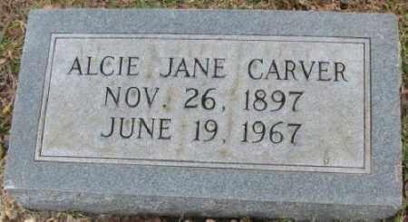 CARVER, ALCIE JANE - Little River County, Arkansas | ALCIE JANE CARVER - Arkansas Gravestone Photos