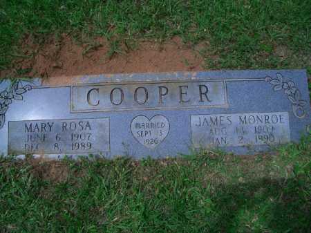 COOPER, JAMES MONROE - Little River County, Arkansas | JAMES MONROE COOPER - Arkansas Gravestone Photos