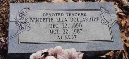 DOLLARHIDE, BENDETTE ELLA - Little River County, Arkansas | BENDETTE ELLA DOLLARHIDE - Arkansas Gravestone Photos