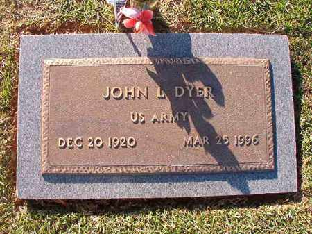 DYER (VETERAN), JOHN L - Little River County, Arkansas | JOHN L DYER (VETERAN) - Arkansas Gravestone Photos