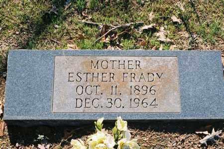 FRADY, ESTHER - Little River County, Arkansas | ESTHER FRADY - Arkansas Gravestone Photos