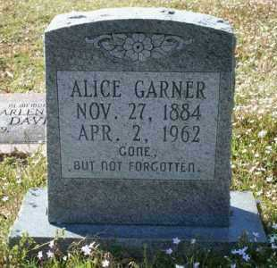 GARNER, ALICE - Little River County, Arkansas | ALICE GARNER - Arkansas Gravestone Photos