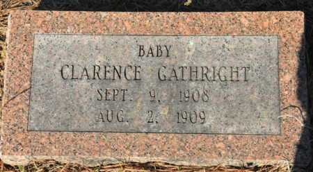 GATHRIGHT, CLARENCE - Little River County, Arkansas | CLARENCE GATHRIGHT - Arkansas Gravestone Photos