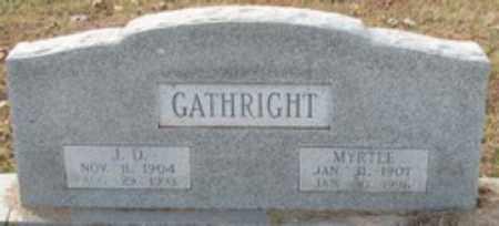 "GATHRIGHT, JAMES DORSEY ""DOSSIE"" - Little River County, Arkansas   JAMES DORSEY ""DOSSIE"" GATHRIGHT - Arkansas Gravestone Photos"