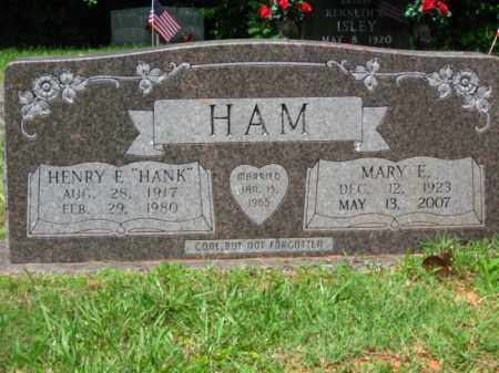 HAM, HENRY E - Little River County, Arkansas | HENRY E HAM - Arkansas Gravestone Photos