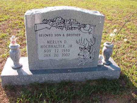 HOCHHALTER, JR, MERLYN D - Little River County, Arkansas | MERLYN D HOCHHALTER, JR - Arkansas Gravestone Photos