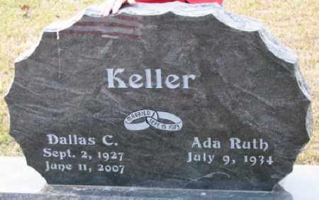 KELLER, DALLAS C - Little River County, Arkansas | DALLAS C KELLER - Arkansas Gravestone Photos