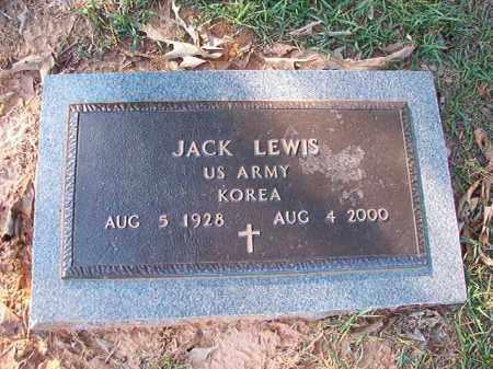 LEWIS (VETERAN KOR), JACK - Little River County, Arkansas   JACK LEWIS (VETERAN KOR) - Arkansas Gravestone Photos