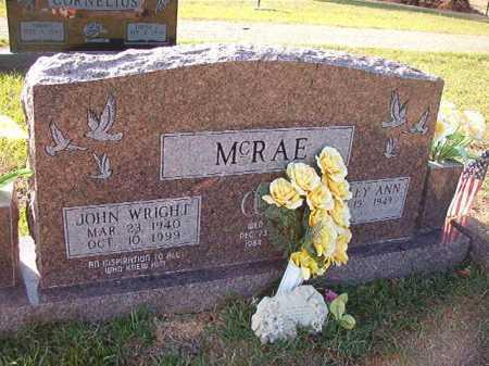 MCRAE, JOHN WRIGHT - Little River County, Arkansas | JOHN WRIGHT MCRAE - Arkansas Gravestone Photos