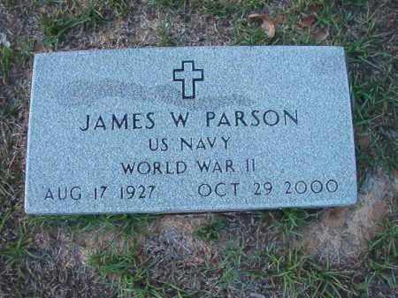 PARSON (VETERAN WWII), JAMES W - Little River County, Arkansas | JAMES W PARSON (VETERAN WWII) - Arkansas Gravestone Photos