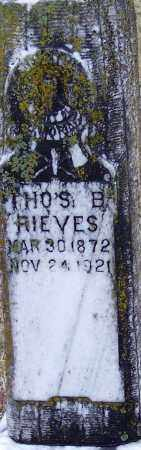 RIEVES, THOMAS BENTON - Little River County, Arkansas   THOMAS BENTON RIEVES - Arkansas Gravestone Photos