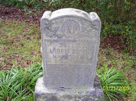 MIDDLEBROOKS, SALLIE - Little River County, Arkansas | SALLIE MIDDLEBROOKS - Arkansas Gravestone Photos