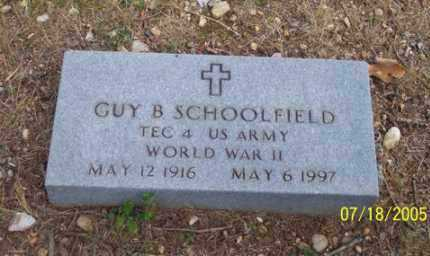 SCHOOLFIELD (VETERAN WWII), GUY BENTON - Little River County, Arkansas | GUY BENTON SCHOOLFIELD (VETERAN WWII) - Arkansas Gravestone Photos