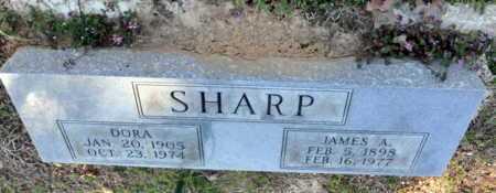 SHARP, JAMES A - Little River County, Arkansas | JAMES A SHARP - Arkansas Gravestone Photos