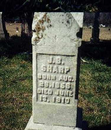 SHARP, JAMES BUCHANAN - Little River County, Arkansas | JAMES BUCHANAN SHARP - Arkansas Gravestone Photos