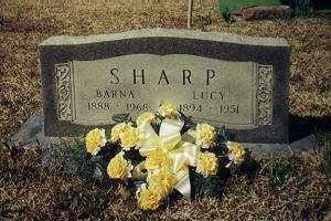 SHARP, THOMAS BARNABAS - Little River County, Arkansas | THOMAS BARNABAS SHARP - Arkansas Gravestone Photos