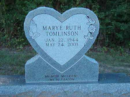 TOMLINSON, MARYE RUTH - Little River County, Arkansas   MARYE RUTH TOMLINSON - Arkansas Gravestone Photos
