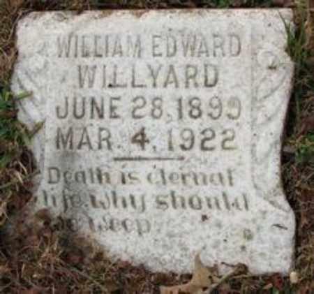 WILLYARD, WILLIAM EDWARD - Little River County, Arkansas | WILLIAM EDWARD WILLYARD - Arkansas Gravestone Photos