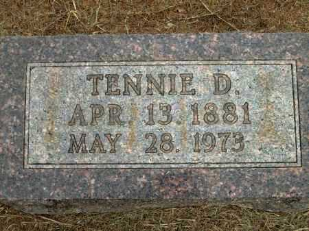 ABLES, TENNIE D - Logan County, Arkansas | TENNIE D ABLES - Arkansas Gravestone Photos
