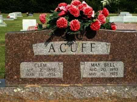 ACUFF, MAY BELL - Logan County, Arkansas | MAY BELL ACUFF - Arkansas Gravestone Photos