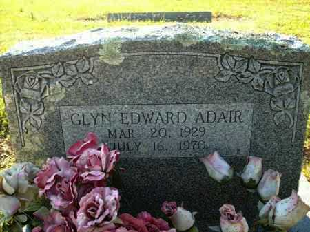 ADAIR, GLEN EDWARD - Logan County, Arkansas | GLEN EDWARD ADAIR - Arkansas Gravestone Photos