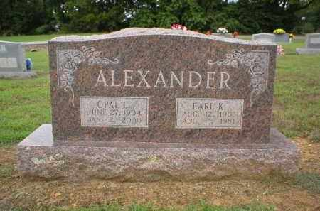 ALEXANDER, OPAL - Logan County, Arkansas   OPAL ALEXANDER - Arkansas Gravestone Photos