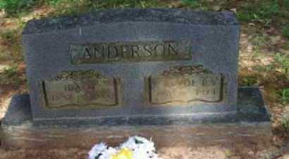 ANDERSON, IDA A - Logan County, Arkansas | IDA A ANDERSON - Arkansas Gravestone Photos