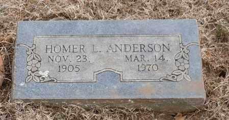 ANDERSON, HOMER L - Logan County, Arkansas | HOMER L ANDERSON - Arkansas Gravestone Photos