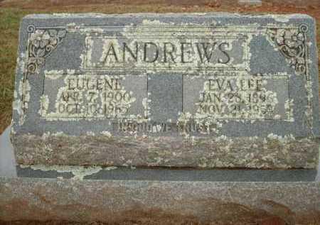 ANDREWS, EVA LEE - Logan County, Arkansas | EVA LEE ANDREWS - Arkansas Gravestone Photos