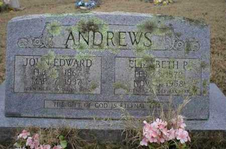 ANDREWS, JOHN EDWARD - Logan County, Arkansas | JOHN EDWARD ANDREWS - Arkansas Gravestone Photos