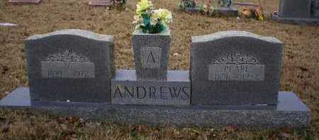 ANDREWS, V - Logan County, Arkansas | V ANDREWS - Arkansas Gravestone Photos
