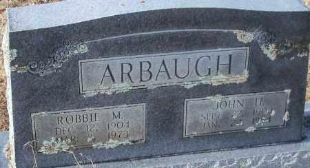 ARBAUGH, JOHN H. - Logan County, Arkansas   JOHN H. ARBAUGH - Arkansas Gravestone Photos