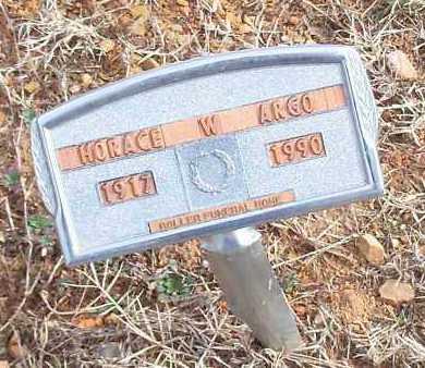 ARGO, HORACE W - Logan County, Arkansas | HORACE W ARGO - Arkansas Gravestone Photos